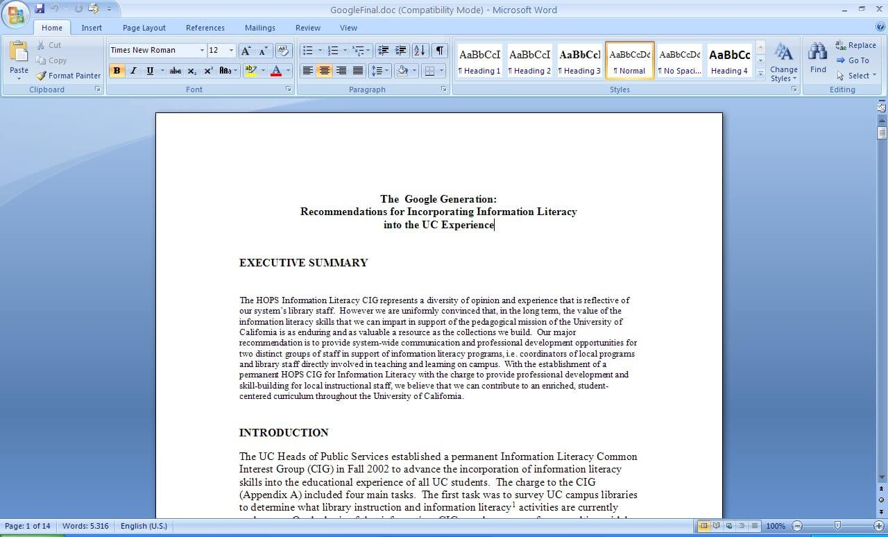 Chapter 6 developed the theory underlying term weighting in download free office documents for the purposes of