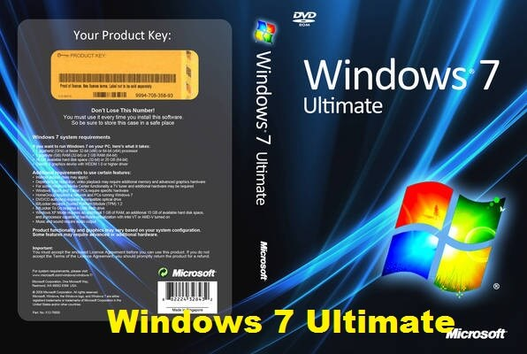 Windows 7 Ultimate x64 MSDN serial key or number