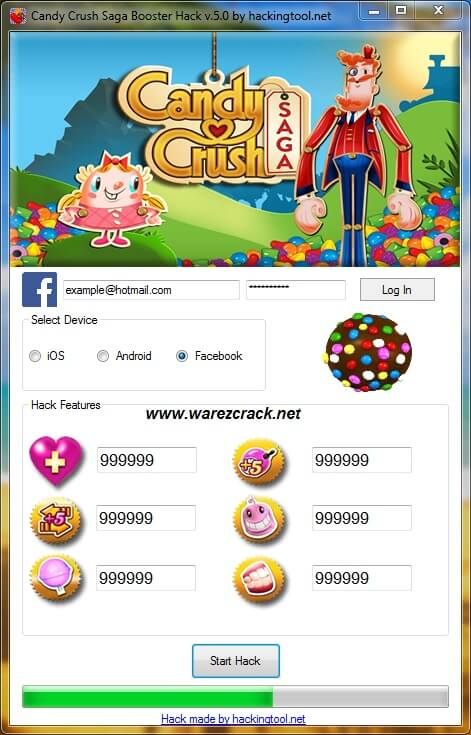 Candy Crush Saga Hack And Cheats Tool 2016 Free Download