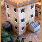 Combat Storm Middle Eastern Building with Dumpsters