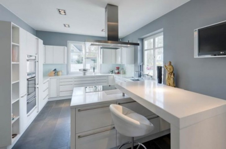 40 gorgeous grey kitchens assess myhome light grey kitchen cabinets Light Grey Kitchen Walls Warisan Lighting