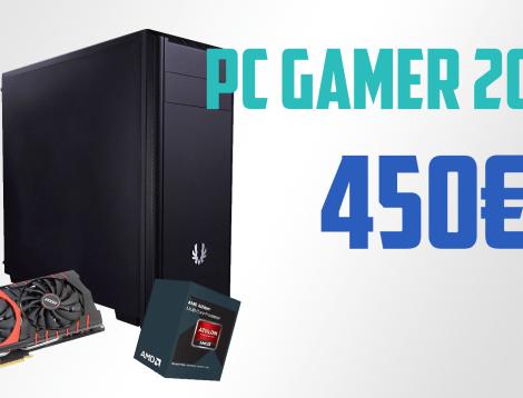 Config PC Gamer à 450€