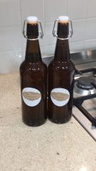 Home Brew Bottled