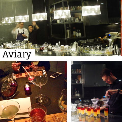 Aviary Cocktails