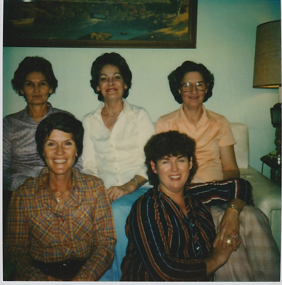My mom and her sisters