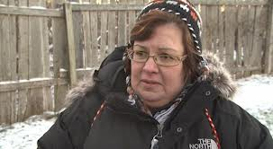 Indian Act chief Theresa Spence at her Ottawa hunger strike.