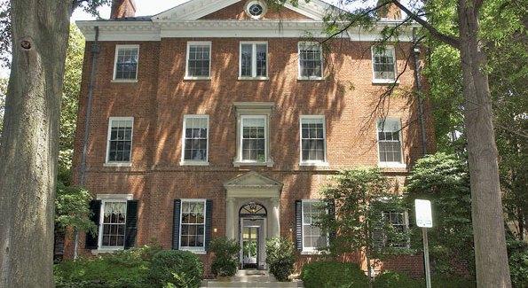Philanthropist Paul Mellon's Embassy Row house.