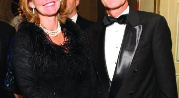 Swedish Ambassador Jonas Hafström and Eva Hafström