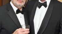 Plácido Domingo and British Amb. Sir Nigel Sheinwald