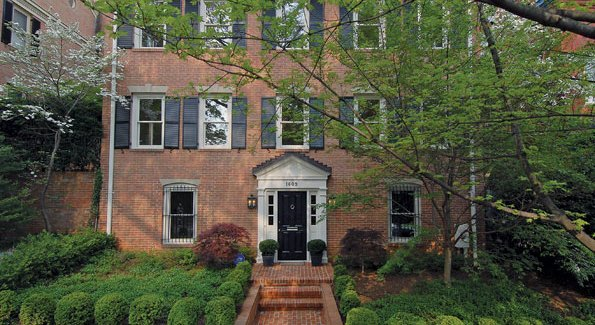 Daniel Cummings and his wife Linda are expected to buy 1609 31st St., NW.