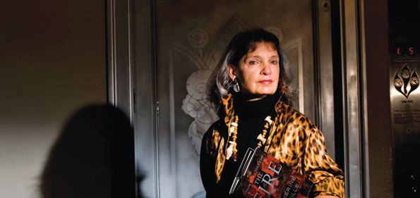 Novelist Katherine Neville (Photograph by Joseph Allen)