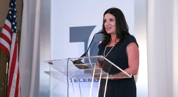 Michelle Albán, Director of Corporate Communications at Telemundo