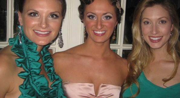 Ashley Wheeler, Tara Wheeler & Kate Marie Grinold. (Photo by Tony Powell)