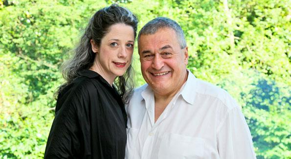 Heather and Tony Podesta. Photo by Tony Powell.