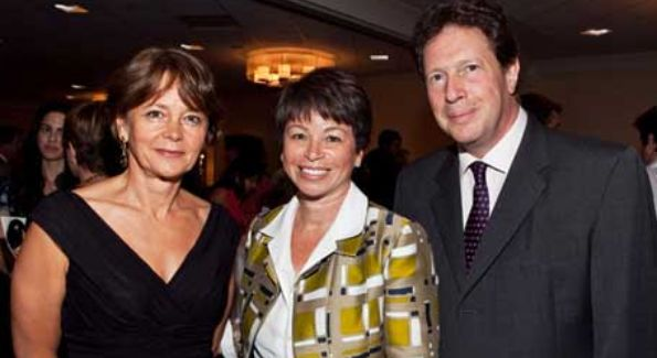 Valerie Jarrett with British Ambassador Sir NIgel Sheinwald and Lady Julia Sheinwald (Photo courtesy of thehill.com)