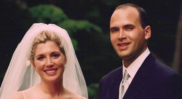 Lesley and Mike McNamara, married in 2000, are one of five married couples who met through volunteering with KEEN. (Photo courtesy of Lesley McNamara)