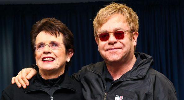 Billie Jean King and Sir Elton John host the WTT Smash Hits VIP Reception.