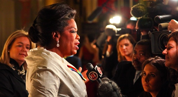 Oprah Winfrey. Kennedy Center Honors Red Carpet. Photo by Tony Powell.