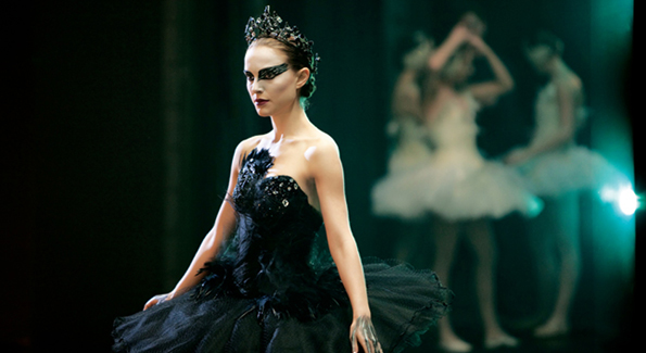 Oscar Winner Natalie Portman as the Black Swan; the looks that started it all.