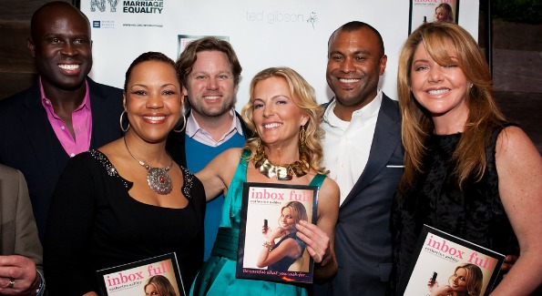 Catherine Ommanney with Real Housewives of DC castmates Ebong Eka, Stacie and Jason Turner and Mary and Rich Amons. Photo by Dave Phillipich.