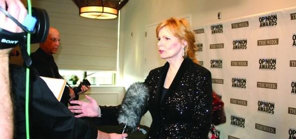 Columnist of the year award-winner Peggy Noonan