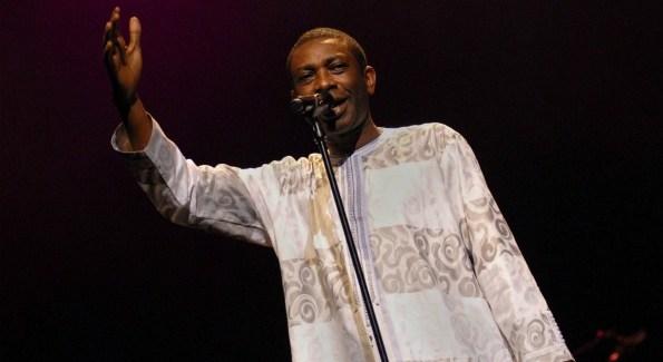 Youssou N'Dour performing live in Paris (Credit, Obligatoire: (C) Vincent Gramain)