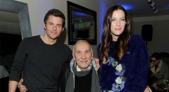 James Marsden, Frang Langella and Liv Tyler at Sundance Film Festival's GREY GOOSE Blue Door.