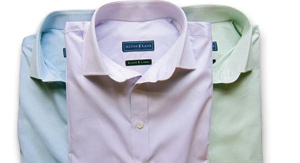 ALTON LANE oxford shirts ($165); Alton Lane, Washington, DC, 646-896-1212 (Photo courtesy of ALTON LANE)