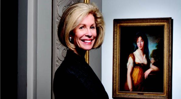 Bonnie is featured in NMWA's 25 Art Lovers campaign. (Photo courtesy of WiT Media)