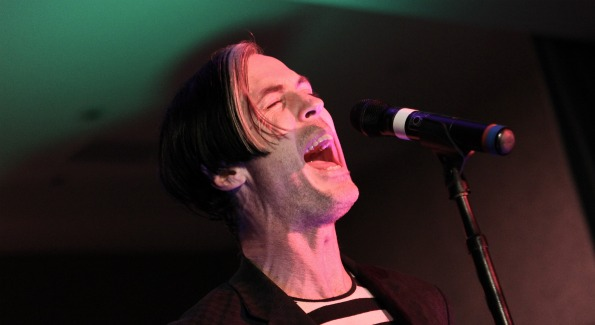 Fitz of Fitz and the Tantrums, who performed at ROCKED's VIP Launch Party March 1st. (Photo by Paul Morigi)