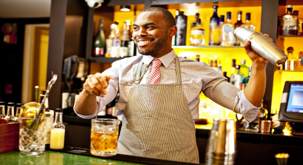 Jon Harris is the Bar Manager at Firefly in Dupont Circle. Photo courtesy of Scott Suchman.