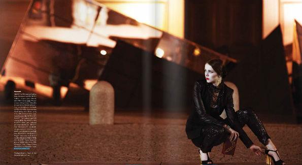 Model Carlin Snow (Photo by Yassine El Mansouri)
