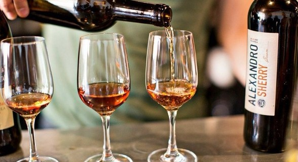 Head to Mockingbird Hill on February 14 for a Sherry pairing dinner. Photo courtesy of Mockingbird Hill.