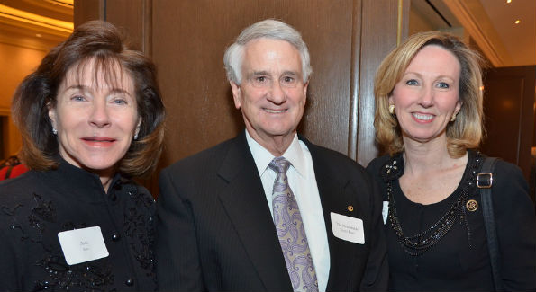 Ann Rust, Tom Rust and Rep. Barbara Comstock (Photo by Alan Schlaifer/Elite Images)