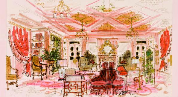 Inn at Little Washington Illustration Beall