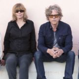 The Jayhawks from L-R: Tim O'Reagan, Karen Grotberg, Gary Louris, Marc Perlman (Courtesy Photo)