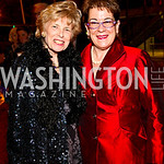 Photo by Tony Powell. Bitsey Folger, Molly Smith. Arena Stage Opening Gala Celebration. Mead Center. October 25, 2010