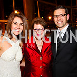 Photo by Tony Powell. Angela Fox, Molly Smith, Mitch Bonanno. Arena Stage Opening Gala Celebration. Mead Center. October 25, 2010