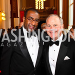 Eric Motley, Mack McLarty. Kennedy Center Spring Gala. Photo by Tony Powell. April 3, 2011
