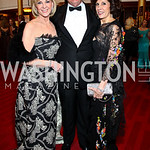 Elaine Wynn, Jim Johnson, Beth Dozoretz. Kennedy Center Spring Gala. Photo by Tony Powell. April 3, 2011