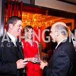 Jim Stellmach, Allison Reid, Josh Leahy. CNN Congressional Correspondent's Dinner After Party. Photo by Tony Powell. Lincoln. March 30, 2011