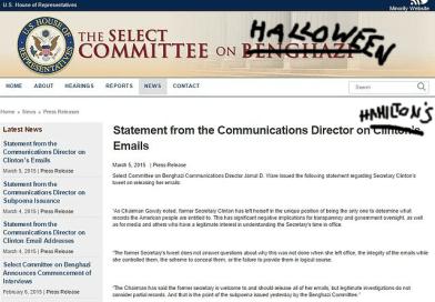 BREAKING: Wikileaks Releases Andrew Hamilton's Halloween Planning Committee E-mails