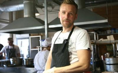 From Waste to Taste -keittiön toinen kokki on tv:stäkin tuttu Jyrki Tsutsunen