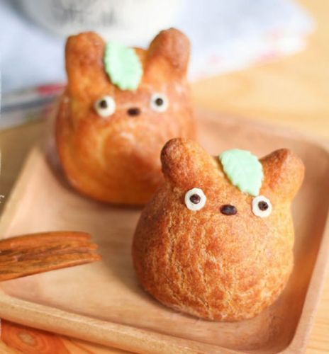 animal choux buns