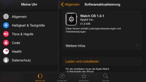 Watch OS 1.0.1 Update, Fabian Geissler, Hack4Life