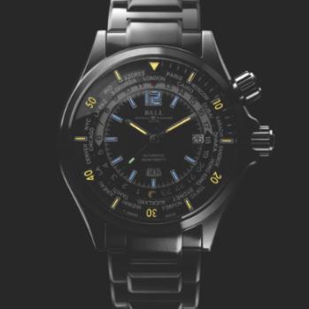 Engineer Master II Diver Worldtime.