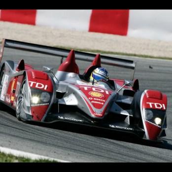 Mike Rockenfeller LMS, 1000km - Barcelona/ES 4. - 6. 4. 2008 Foto: AUDI AG Audi Kommunikation Motorsport D-85045 Ingolstadt motorsport-media@audi.de Tel.: +49 (0)841 - 89 34200