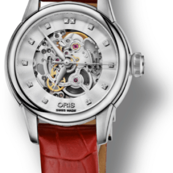 Oris Artelier Skeleton Diamond1