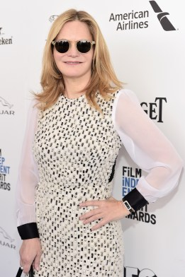 SANTA MONICA, CA - FEBRUARY 27: Actress Jennifer Jason Leigh attends the 2016 Film Independent Spirit Awards sponsored by Piaget on February 27, 2016 in Santa Monica, California. (Photo by Stefanie Keenan/Getty Images for Piaget) *** Local Caption *** Jennifer Jason Leigh
