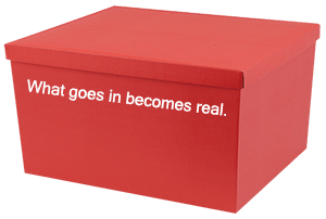 Magic Box - What goes in becomes real